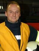 Mario Stührmann, Ortsbrandmeister Cluvenhagen